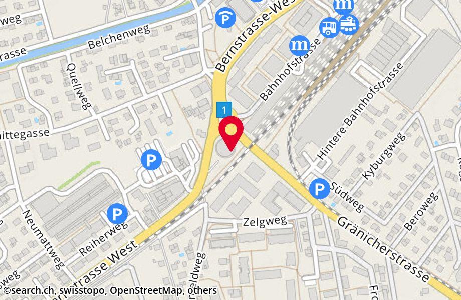 Bernstrasse West 73,5034 Suhr