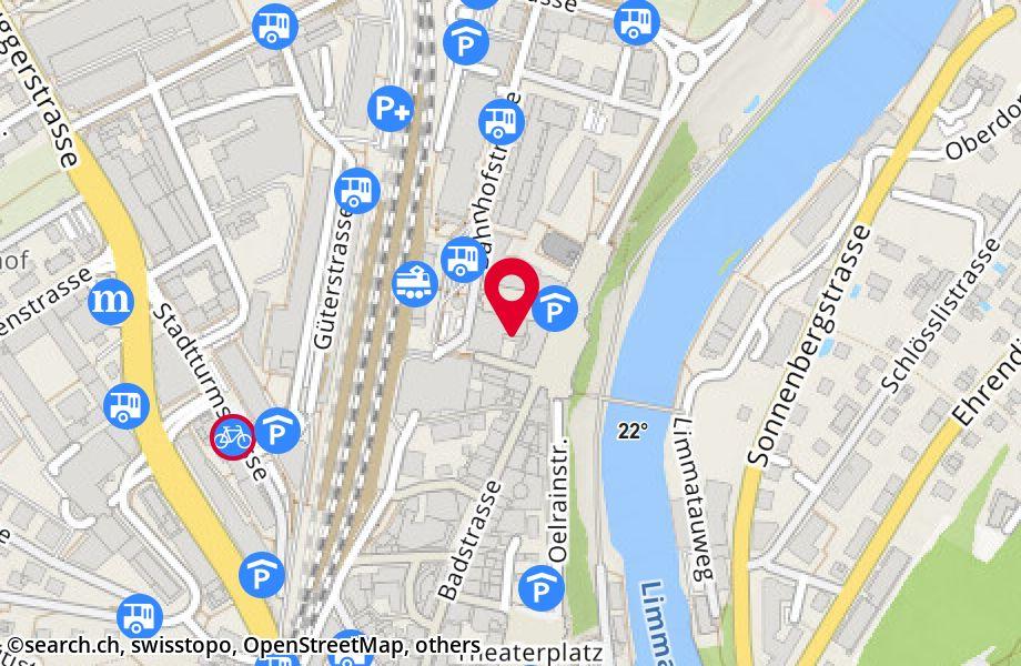 Bahnhofplatz 1,5400 Baden