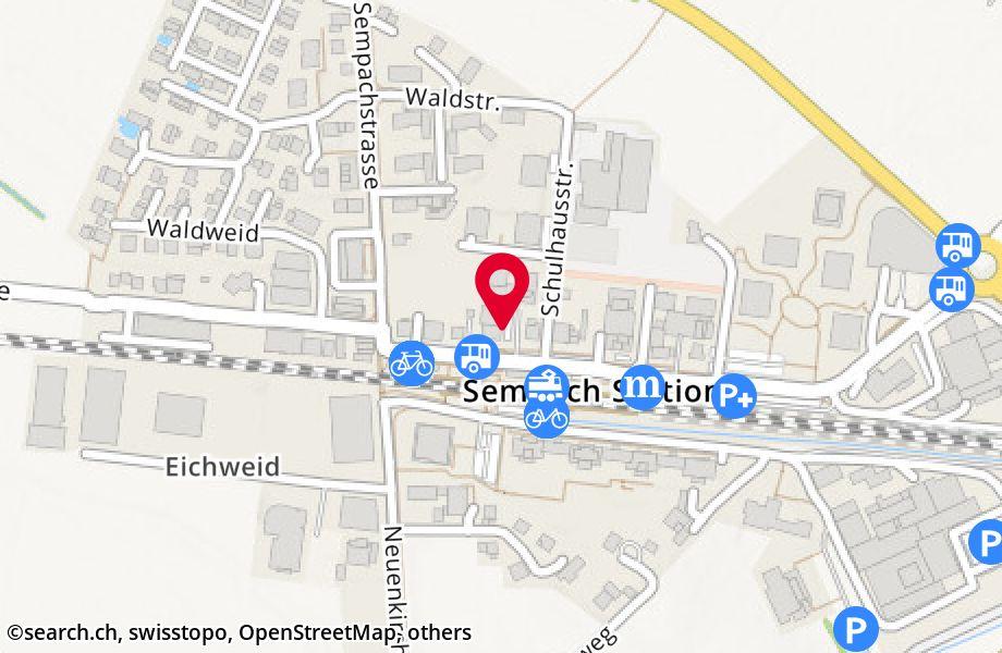 Bahnhofstrasse 9,6203 Sempach Station