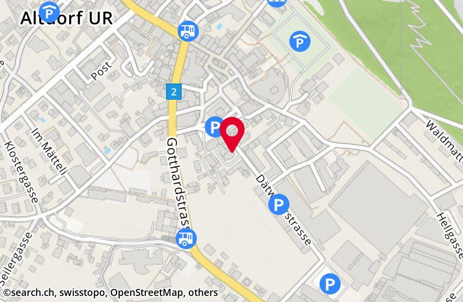 Dätwylerstrasse 4,6460 Altdorf