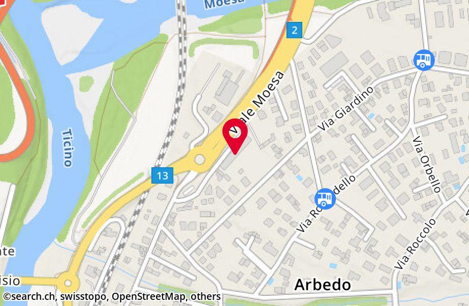 viale Moesa 2,6517 Arbedo