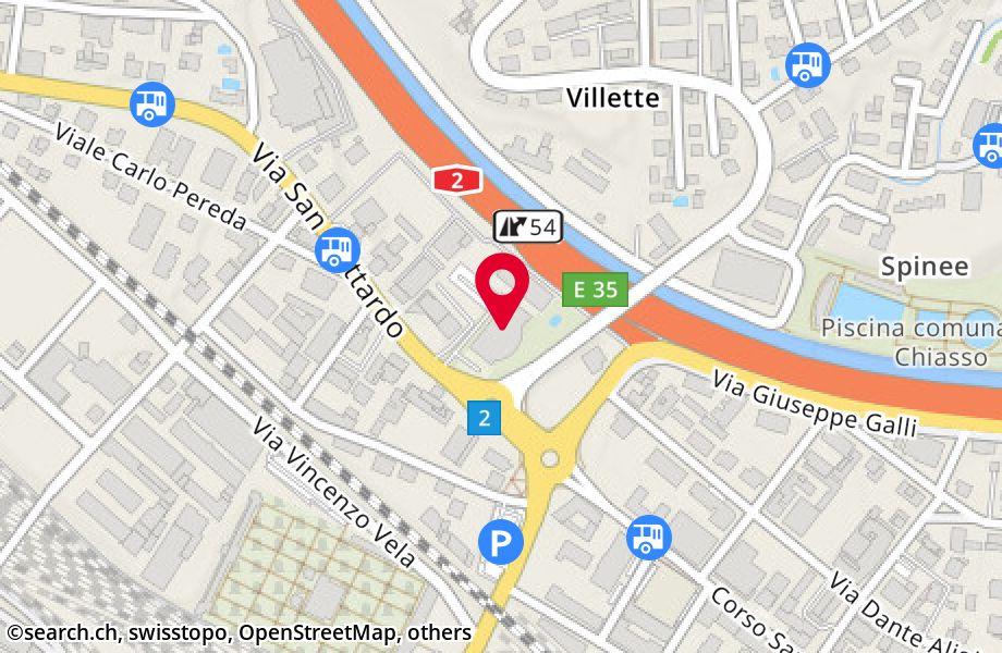 via San Gottardo 4,6828 Balerna