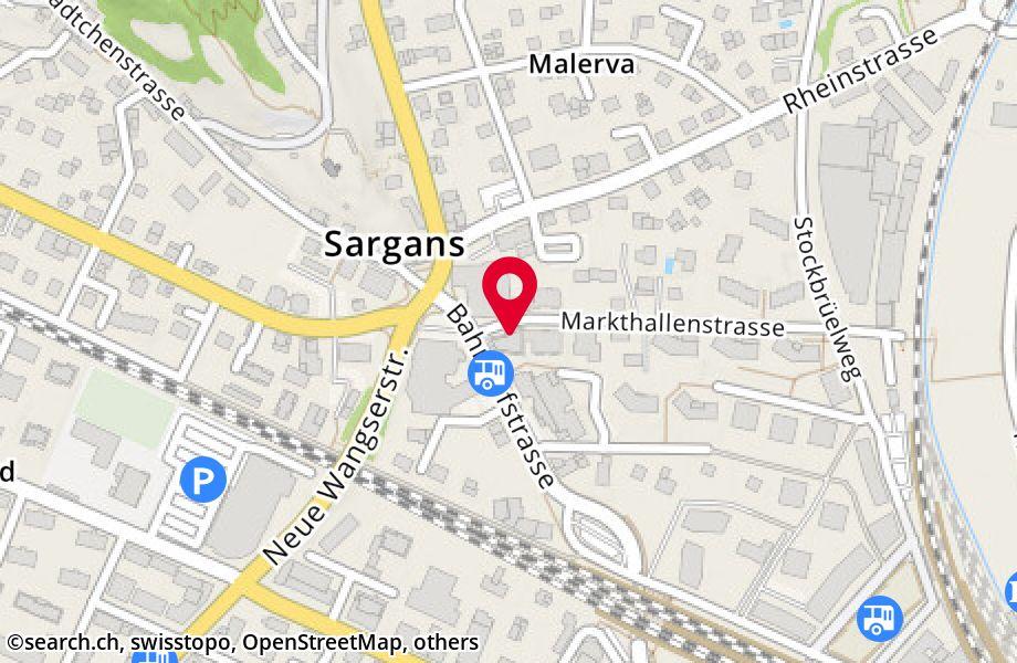 Bahnhofstrasse 3,7320 Sargans