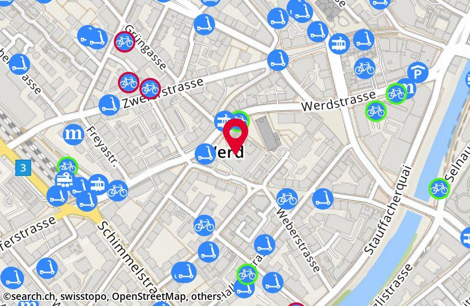 Werdstrasse 75,8004 Zürich