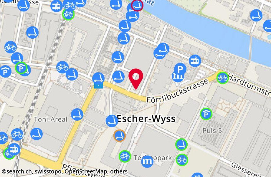 Förrlibuckstrasse 60/62,8005 Zürich