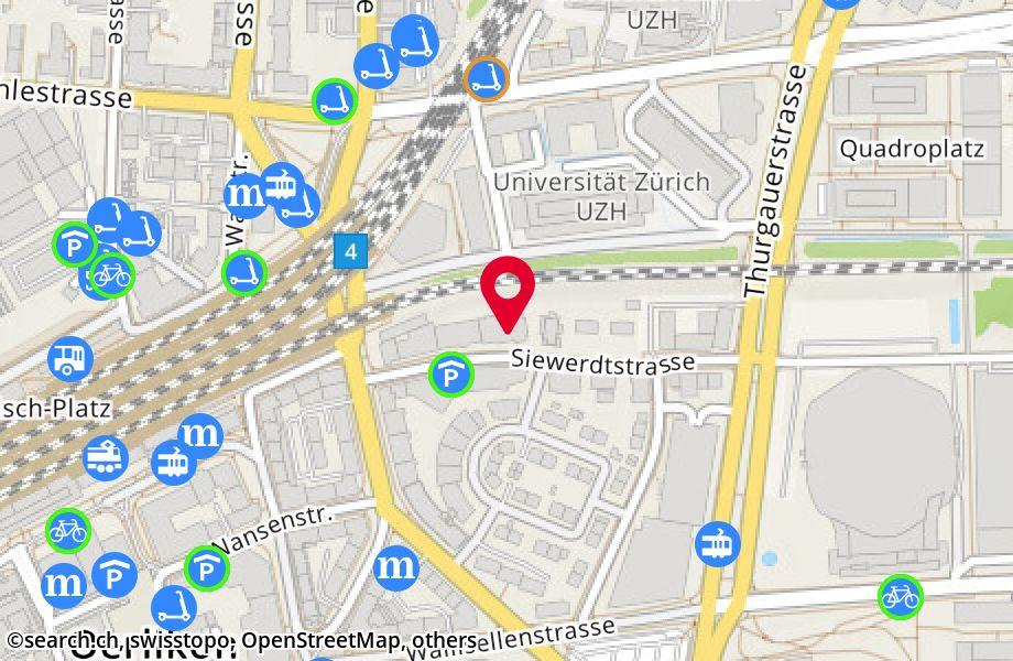 Siewerdtstrasse 9,8050 Zürich