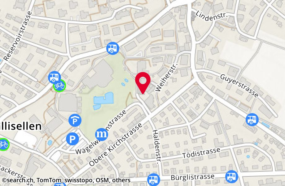 Obere Kirchstrasse 33,8304 Wallisellen