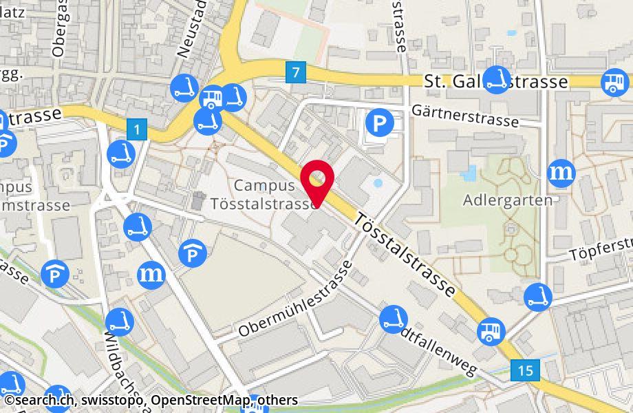 Tösstalstrasse 26,8400 Winterthur