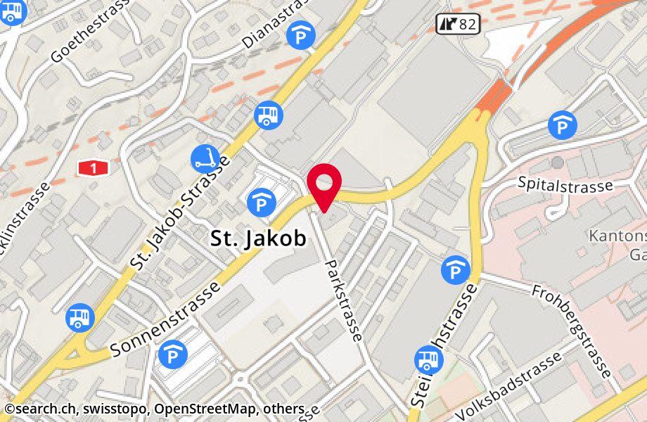 Parkstrasse 16,9000 St. Gallen
