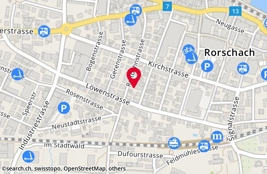 Reitbahnstrasse 21,9400 Rorschach
