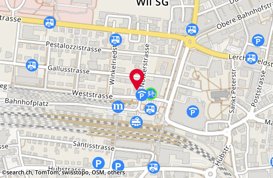 Weststrasse 6,9500 Wil