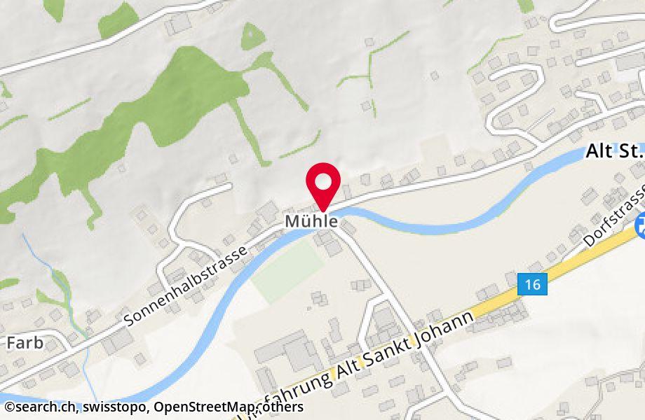 Sonnenhalbstrasse 22,9656 Alt St. Johann