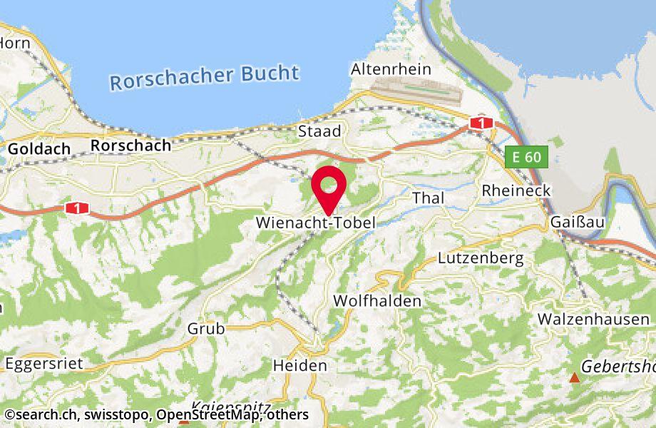Dorf 4,9405 Wienacht-Tobel