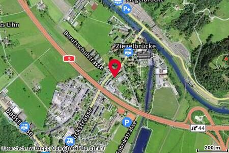 Standort in Ziegelbrücke