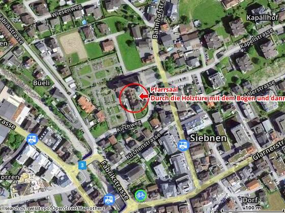 Kirchweg 1, 8854 Siebnen