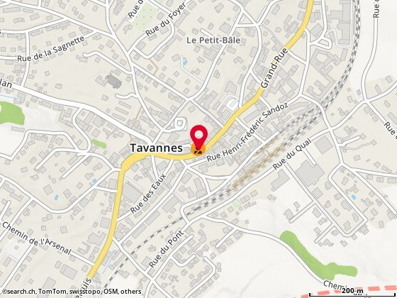 Karte: Tavannes, Grand-Rue 9