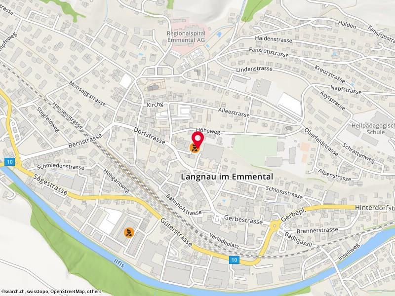 Design Hängelen map langnau im emmental dorfstr 19 search ch