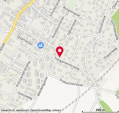 Karte: Schönenwerd, Sälistr. 49