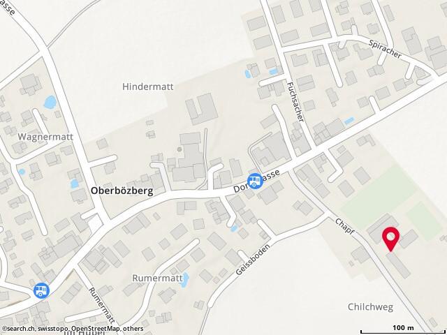 Karte: Bözberg, Chapf 9