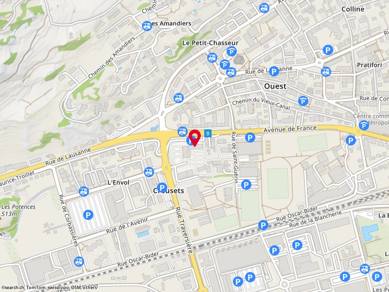 map: service de la circulation routière et de la navigation (scn