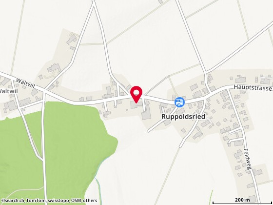 Map: Ruppoldsried, Hauptstr. 6 @598756,215201