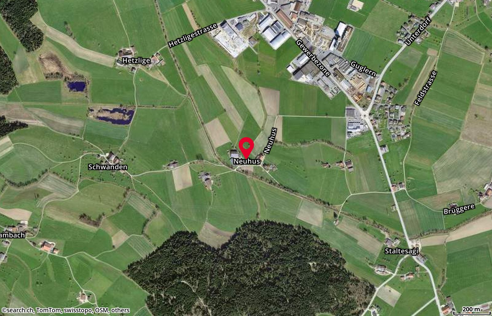 Map: Buttisholz, Neuhus