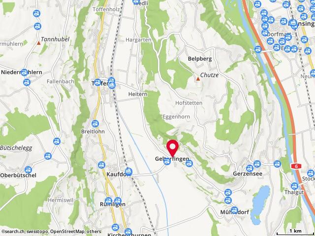 Karte: Gasthof Linde, Gelterfingen, Dorf 32