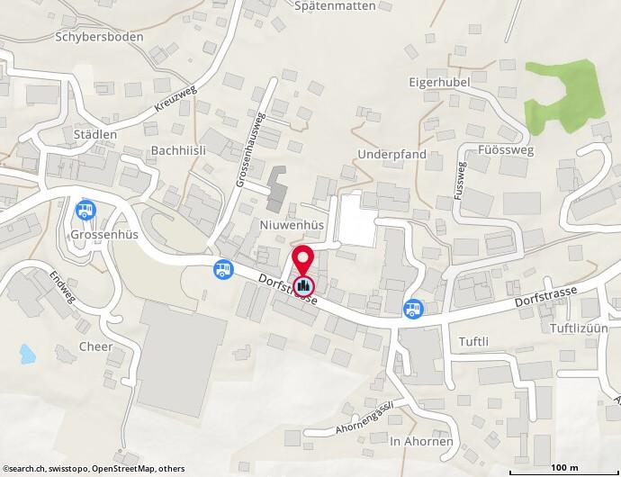 Karte: Martinaglia Optik AG, Grindelwald, Dorfstr. 123