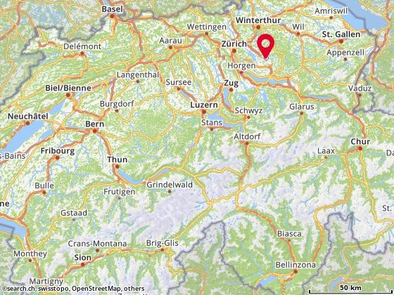 Karte: Univ AG, Wetzikon, Binzackerstr. 37