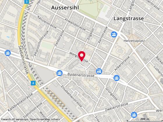 Map: Zürich, Engelstr. 6