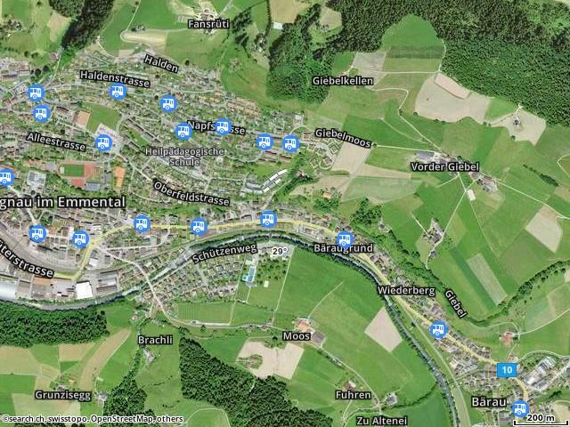 Karte: Langnau im Emmental