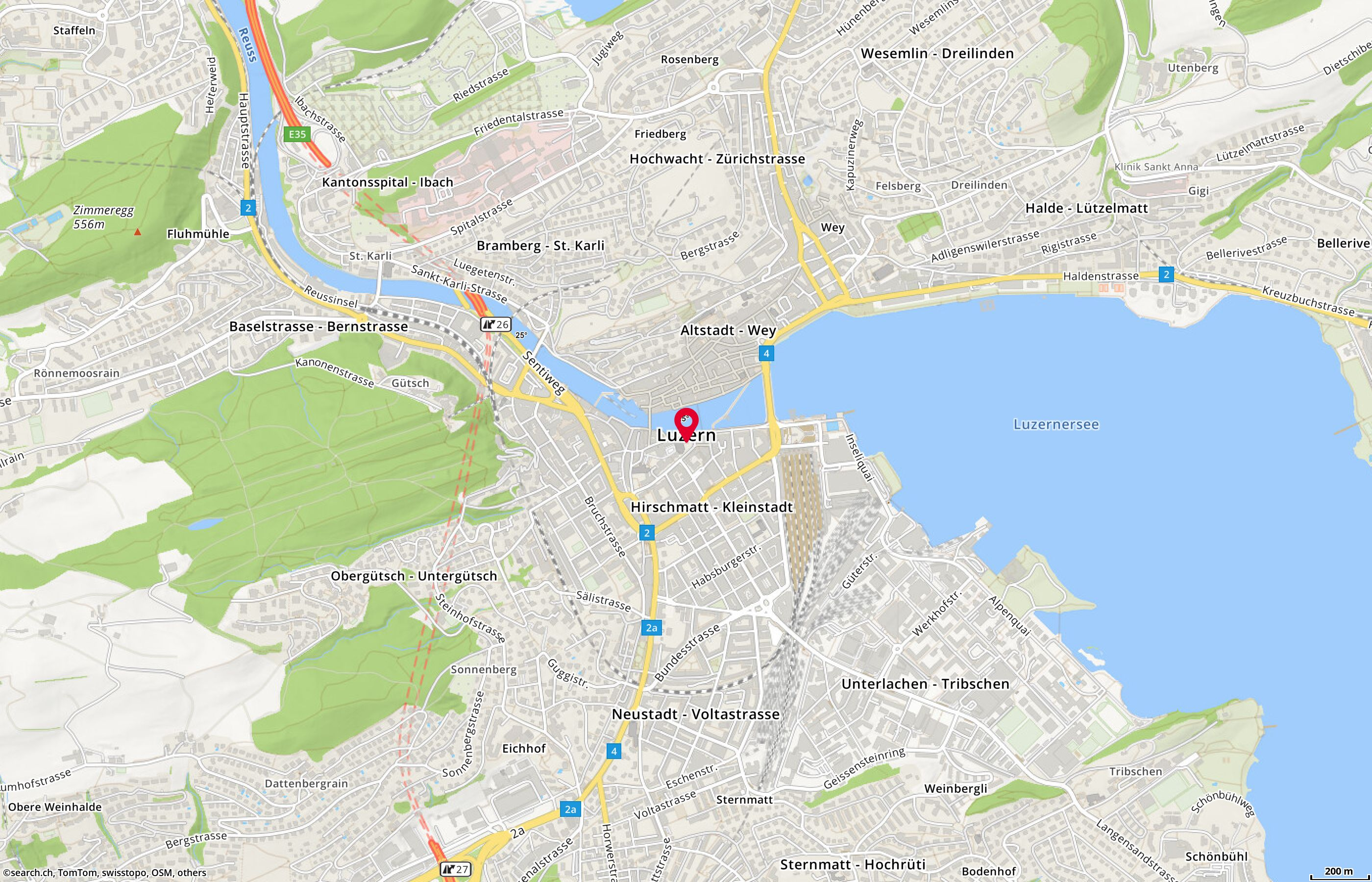 Map: Luzern