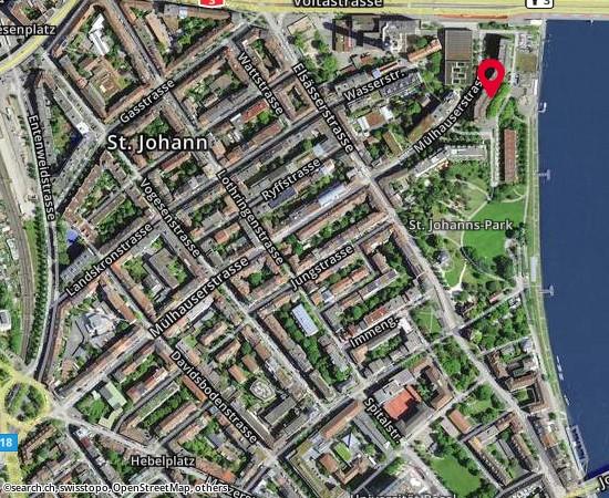 4056 Basel St. Johanns-Parkweg 5