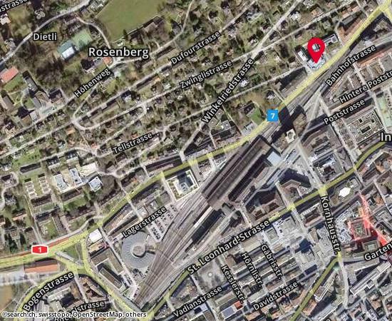 9001 St.Gallen Rosenbergstrasse 20