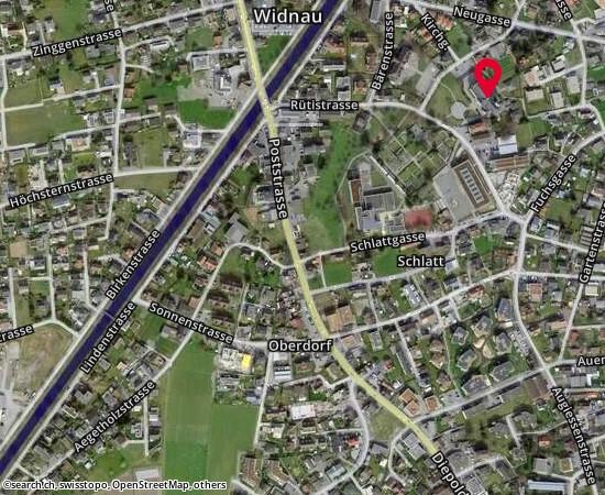 9443 Widnau Schulhaus Wyden und Schulhaus Schlatt