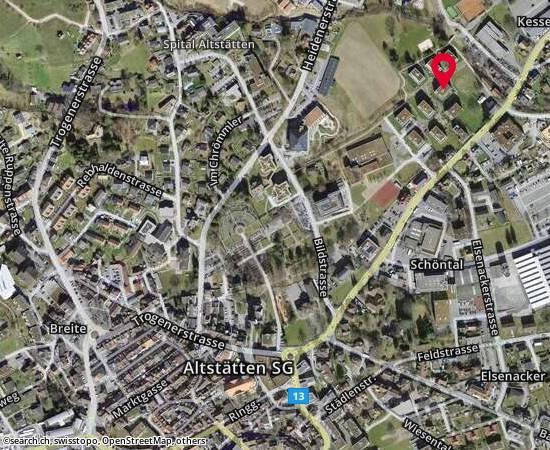Altstätten Schulstrasse 14