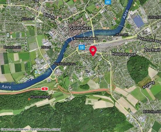 4500 Solothurn Biberiststrasse 16