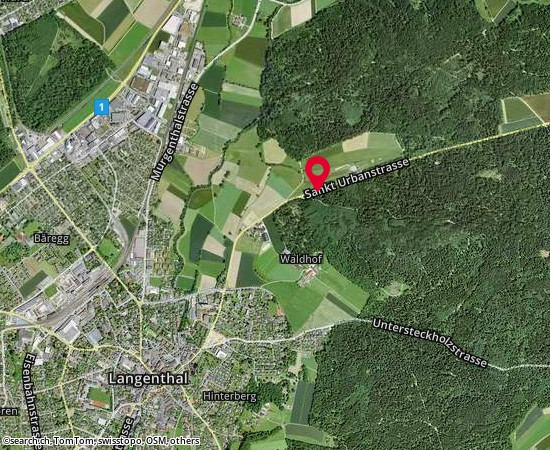 4900 Langenthal Sankt Urbanstrasse