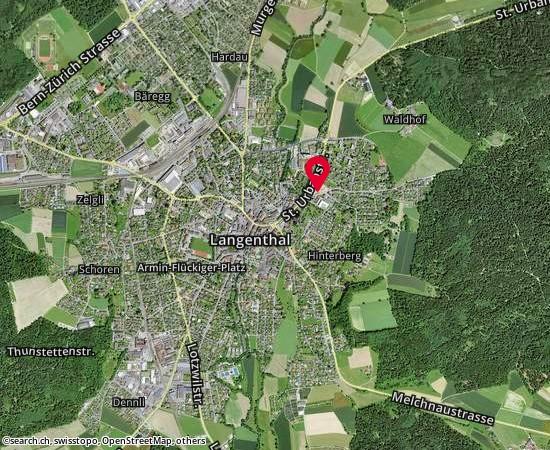 4900 Langenthal Untersteckholzstrasse 1