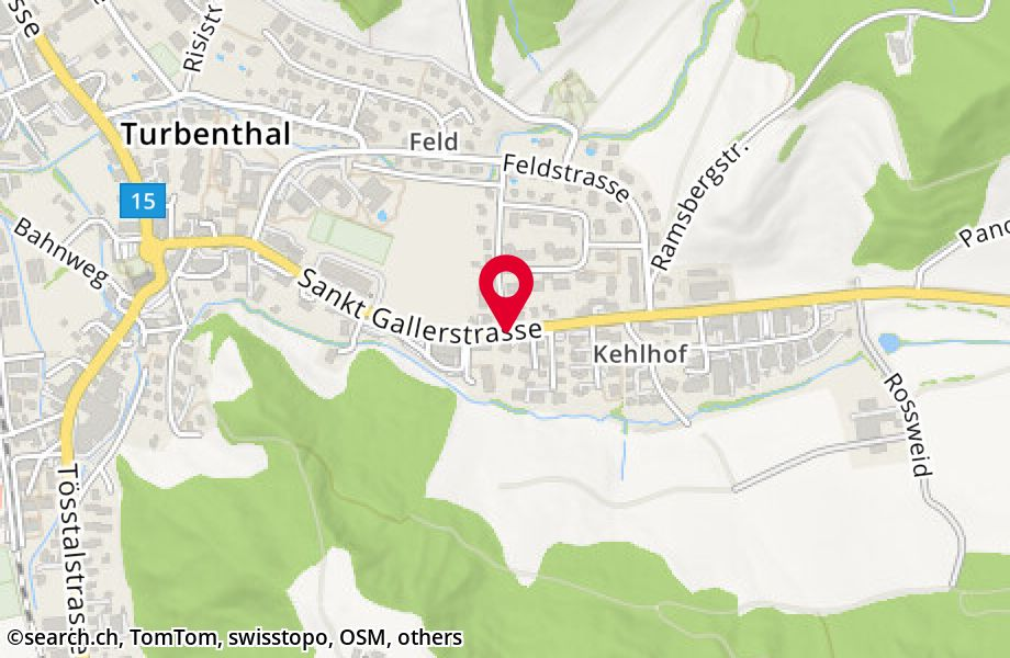 St. Gallerstrasse,8488 Turbenthal
