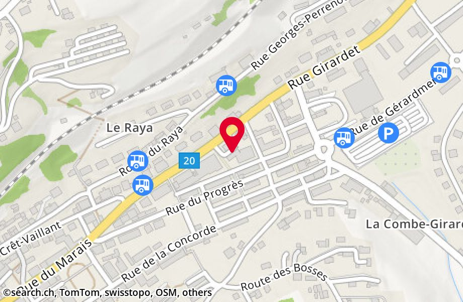 rue Girardet 45,2400 Le Locle