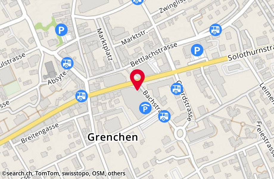 Solothurnstrasse 20,2540 Grenchen