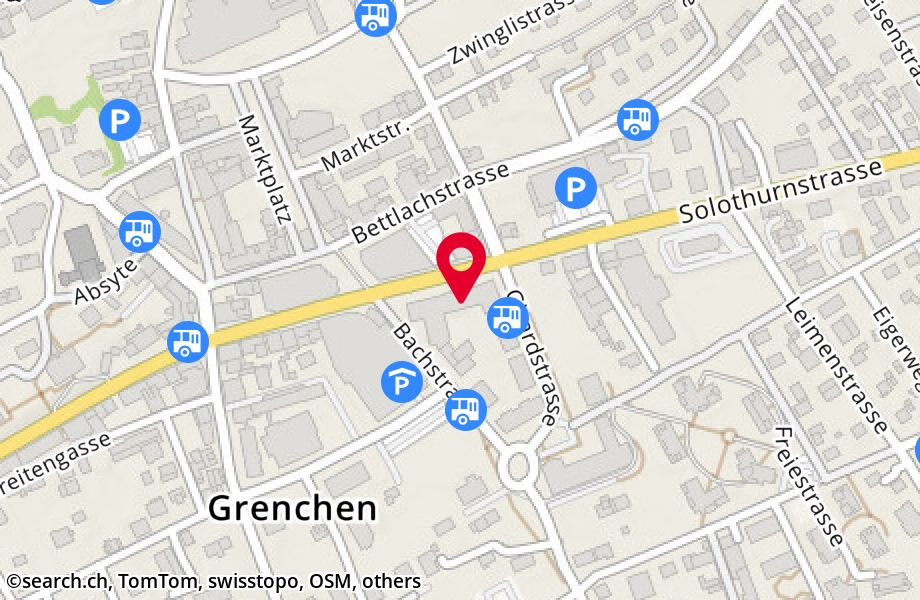 Solothurnstrasse 32,2540 Grenchen