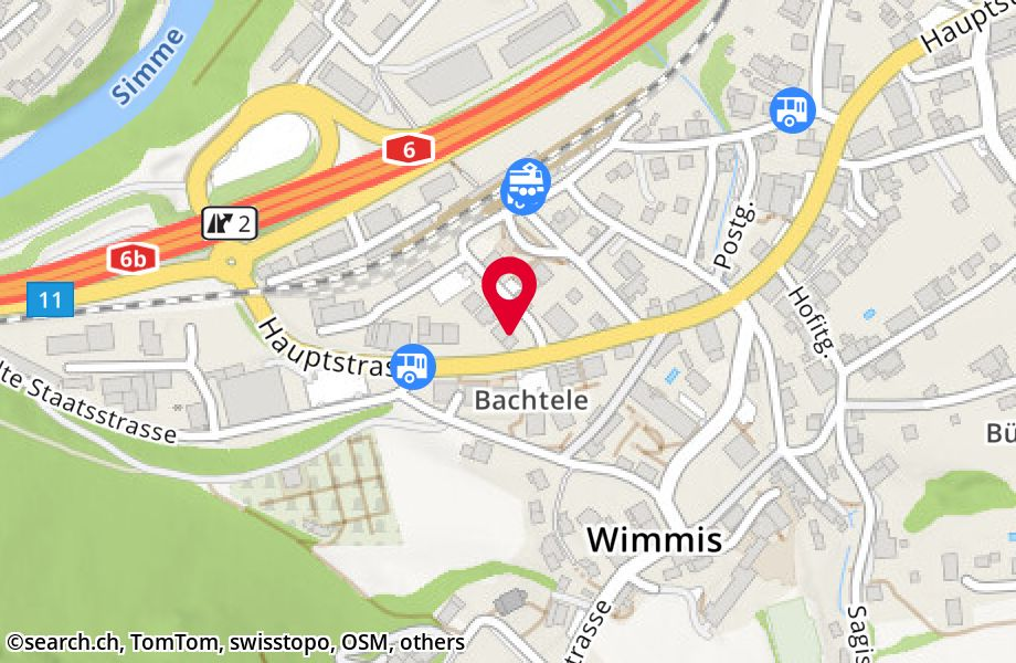 Simmenfluhstrasse 1,3752 Wimmis