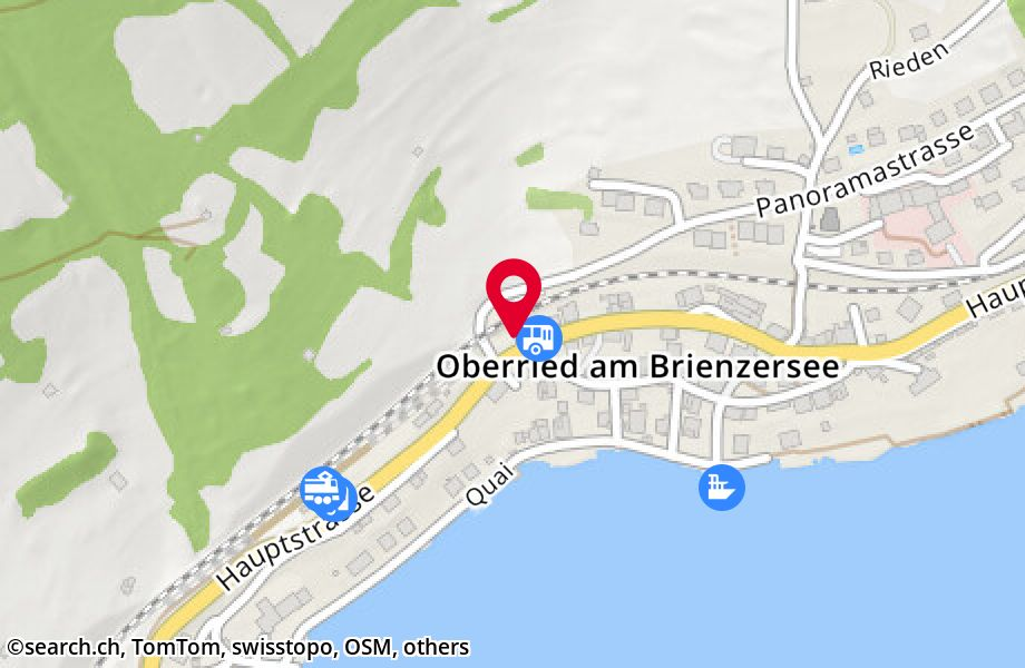 Hauptstrasse 21,3854 Oberried am Brienzersee