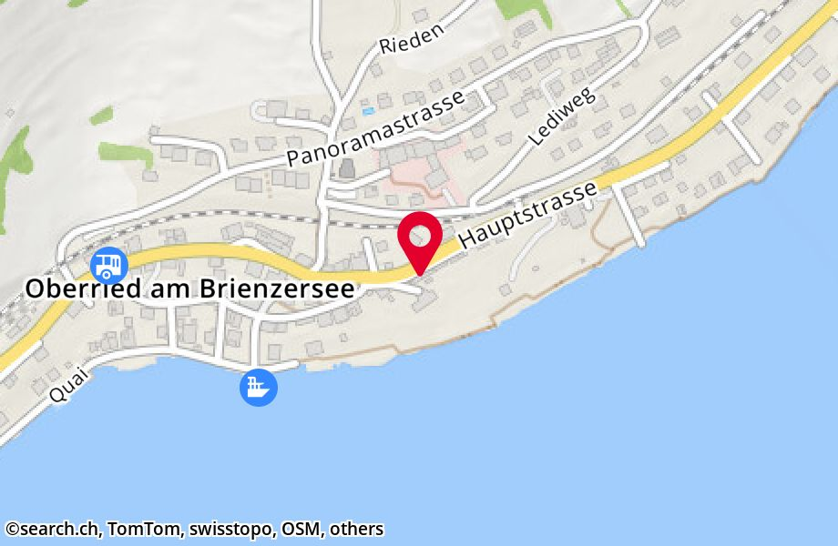 Hauptstrasse 46,3854 Oberried am Brienzersee