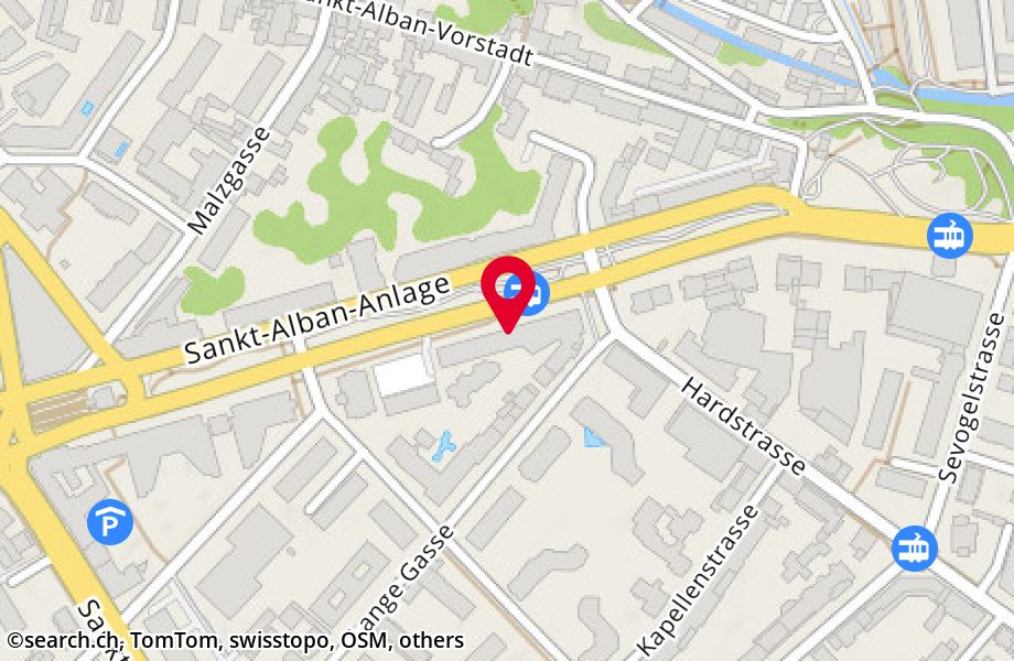 St. Alban-Anlage 40,4052 Basel