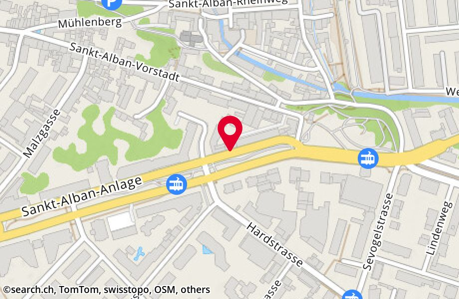 St. Alban-Anlage 57,4052 Basel