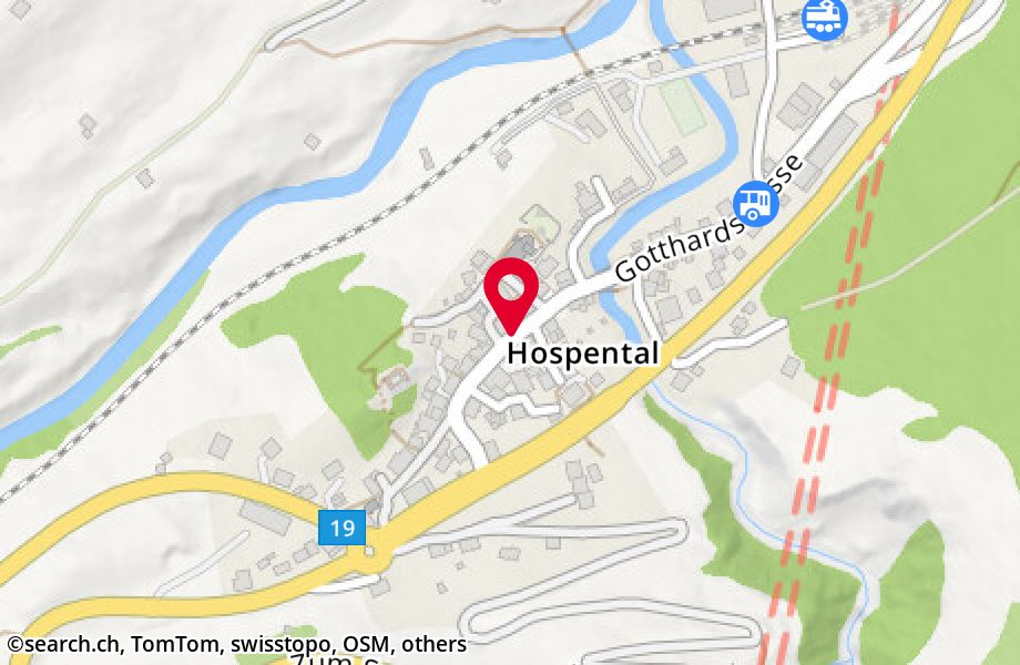 Gotthardstrasse 22,6493 Hospental