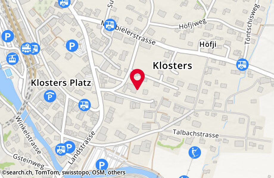 Talstrasse 10A,7250 Klosters